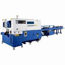 Machine de découpe pour l'aluminium / à lame rotative / de barres / pour métaux non ferreux