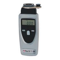 Tachymètre optique / manuel / numérique / pour l'industrie textile