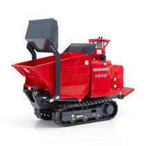 Mini-dumper à chenilles / diesel / à déchargement frontal / à benne élévatrice