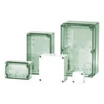 Boîtier mural / rectangulaire / en polycarbonate / en ABS