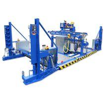 Enrouleur pour touret / à moteur hydraulique / fixe / compact