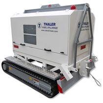 Treuil hydraulique / de tirage / pour l'assainissement de tuyaux / avec télécommande sans fil
