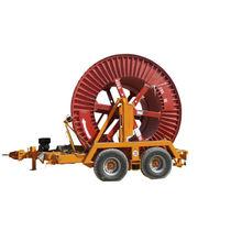 Remorque tandem / porte tourets / hydraulique / forte charge