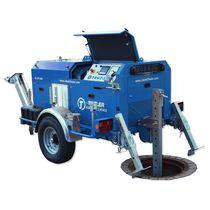 Treuil hydraulique / de traction / pour l'assainissement de tuyaux