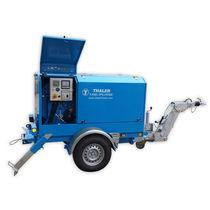 Treuil à cabestan pour câble / à moteur diesel / compact