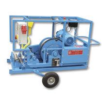 Treuil électrique / pour tire câble / à tambour rotatif
