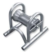 Rouleau pose câble avec rouleau en acier