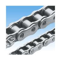 Chaîne de transmission de puissance / en acier inoxydable / à rouleaux / résistante à la corrosion