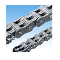 Chaîne de transmission de puissance / en métal / rivetée / à maille jointive