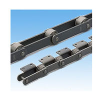 Chaîne de transmission de puissance / à rouleaux / résistante à l'usure / pour applications sévères