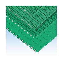 Chaîne de convoyage en plastique / modulaire / à double pas / flexible