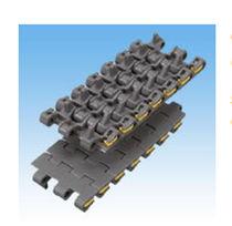 Chaîne de convoyage en plastique / de petite taille / modulaire / flexible