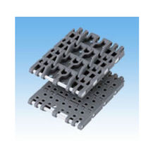 Chaîne de convoyage en plastique / de petite taille / modulaire / à accumulation