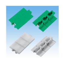 Chaîne de convoyage en plastique / à double pas
