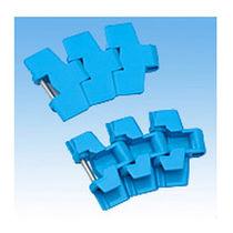 Chaîne de convoyage en plastique / à lattes / de petite taille