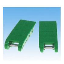 Chaîne de convoyage en plastique / à rouleaux / de petite taille / à maillons monoblocs