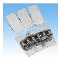 Chaîne de convoyage en acier inoxydable / à lattes