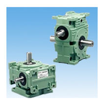 Réducteur à vis sans fin / à engrenages cylindriques / orthogonal / haute performance