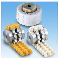 Accouplement à chaîne à rouleaux / pour faible charge / en nylon