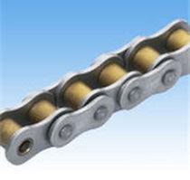 Chaîne de transmission de puissance / en titane / à rouleaux / résistante à la corrosion