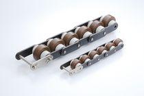 Chaîne de convoyage en plastique / en acier / à rouleaux / de petite taille