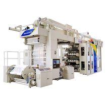 Machine d'impression flexographique / à 8 couleurs / pour étiquettes / pour matières plastiques
