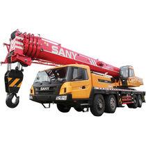 Grue mobile / à flèche / pliable / pour chantier