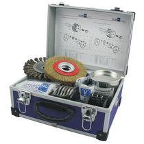 Machine de nettoyage à solvant / à eau / manuelle / de process