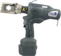 Outil de sertissage hydraulique / pour borne de câbles / à batteries