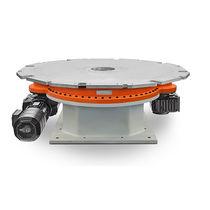 Table de positionnement rotative / motorisée / pour forte charge