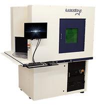 Système de marquage laser à fibre pulsé / automatique / contrôlé par ordinateur / industriel