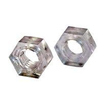 Écrou hexagonal / en plastique