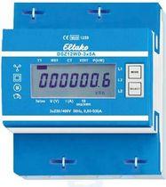 Compteur d'énergie électrique triphasé / sur rail DIN