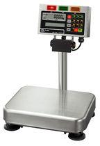 Balance à plate-forme / avec afficheur LCD / en acier inoxydable / étanche