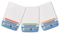 Balance benchtop / avec afficheur LCD / en acier inoxydable / compacte