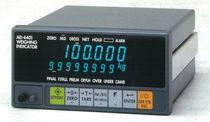 Indicateur/contrôleur de pesage étanche / pour montage sur panneau