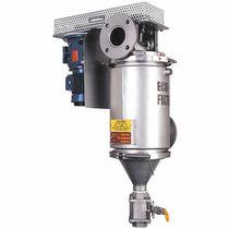 Filtre à liquide / à panier / autonettoyant / haute température