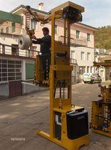 Chariot préparateur de commandes électrique / horizontal