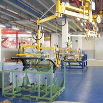 Manipulateur pneumatique / avec prise / de manutention / suspendu sur rail