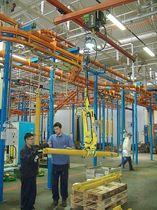 Pince de manutention pour tuyaux / pour barres en fer