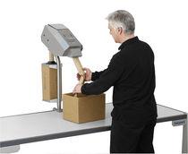 Machine de calage d'emballage papier froissé