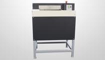 Machine de calage pour emballage matelasseur de carton