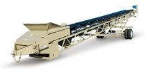 Convoyeur à chaînes / pour l'industrie minière / d'empilage