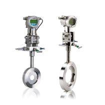 Débitmètre à pression différentielle / à diaphragme / pour gaz / compact