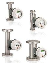Débitmètre à flotteur / pour liquide / à tube métallique / en acier inoxydable
