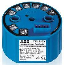Transmetteur de température en tête de sonde / thermocouple / HART / PROFIBUS