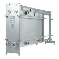 Échangeur de chaleur à plaques et joints / liquide / liquide / sanitaire