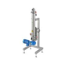 Échangeur de chaleur à surface raclée / liquide / liquide / en acier inoxydable / pour l'industrie alimentaire et de la boisson
