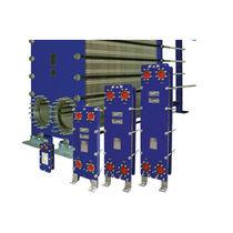 Échangeur de chaleur à plaques et joints / liquide / liquide / pour l'industrie