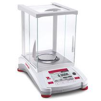 Balance de laboratoire / d'analyse / à écran tactile / plateau en acier inoxydable